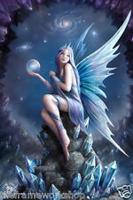 ANNE STOKES STAR GAZER FAIRY - 3D CULT MOVING PICTURE 300mm x 400mm
