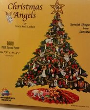 New Christmas Angels 1000 Jigsaw Puzzle  by mary ann lasher