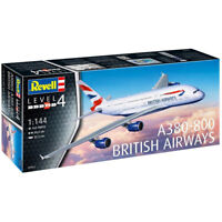 REVELL A380-800 British Airways 1:144 Scale Model Kit 03922