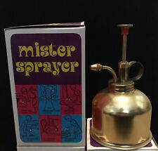 Vintage Brass Mister Sprayer (New Old Stock)
