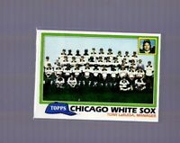 1981 Topps #664 CHICAGO WHITE SOX TEAM UNMARKED CHECKLIST - Baseball Card