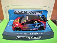 "Scalextric  Eurotech  Honda Civic Type R   N° 55  "" BTCC  2016 ""   Ref.  C3860"