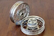 "14"" FRONT REAR SUPERMOTO RIM WHEEL PIT DIRT BIKE DISC BRAKE ROTOR I RM28+RM29"
