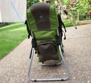 Deuter Kid Comfort Plus baby toddler back pack carrier