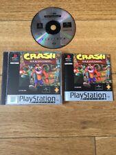 crash bandicoot ps1 game PlayStation 1 & 2 PS2 Classic Game Retro Hit! VGC
