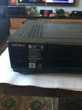 Sony Slv-980Hf 4-Head Vcr Vhs Player/Recorder Hi-Fi Stereo Auto Tracking Works