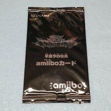 1x Japanese Yugioh Rush Duel Amiibo Card Saikyo Battle Royale Factory Sealed