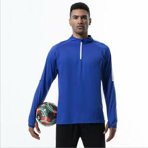 New Exercise Sport Gym Athletic Tops Men's Football Soccer Training Jackets Gift