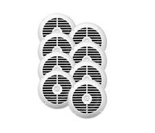 Package of  8 x 6.5''  Waterproof Stereo White Marine 960W Speaker System EKMSW6