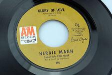 Herbie Mann: Glory of Love / Unchain My Heart  [VG++ Copy]