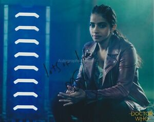 Mandip Gill Hand Signed 8x10 Photo, Autograph, Doctor Who, Dr Who (H)