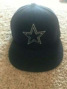 NEW ERA 59Fifty Youth Kids Dallas Cowboys Navy Blue Star 5950 Fitted Hat