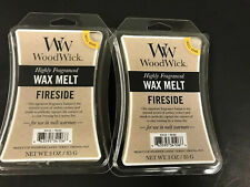New, WOODWICK Wax Melts Fireside Scented 3 Oz Each, Set Of Two