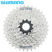 Shimano Alivio CS-HG201-9 Speed Mountain Bike Bicycle Cassette 11T-32T Silver US