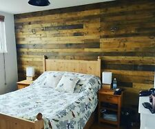 30 planks reclaimed pallet wood nails cut to give flat surface