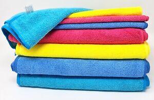 10 Mikrofasertücher Reinigungstuch Poliertuch Microfasertücher Putztuch 30X30 cm