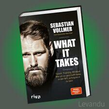 WHAT IT TAKES   SEBASTIAN VOLLMER   Talent, Training, Mindset - Football - NFL