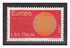 1970 -  EUROPA   VARIETA'    GIALLO  SPOSTATO -  Nuovo **