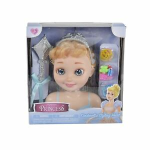 Classic Princess Styling Head and Accessories - Cinderella