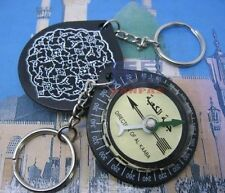 Muslim Qibla finder compass key ring & key chain
