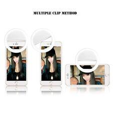 Anillo de flash de relleno para Selfie 36 LED Luz Cámara De Clip Para Teléfono Móvil iPhone Samsung