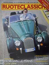 Ruoteclassiche n°177 2003 Test Morgan Le Mans - Alfa Romeo 6C 2300  [Sc.62]
