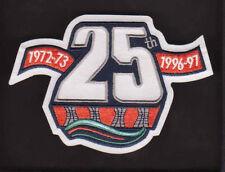NHL NEW YORK ISLANDERS 25TH ANNIVERSARY 1972-73 - 1996-97 PATCH