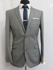 Two Button Slim Double Textured Suits & Tailoring for Men