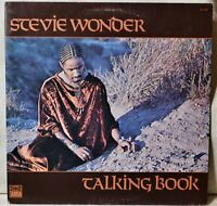 Stevie Wonder Talking Book LP EX- Vinyl Superstition Maybe Your Baby Sunshine #A