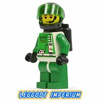 LEGO Space Minifigure - Space Police 2 Astronaut - minifig sp037 FREE POST