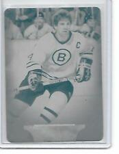 2011 UD Parkhurst Champions TERRY O'REILLY Boston Bruins cyan plate 1/1