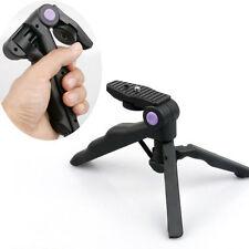 2in1 Desktop Mini Portable Folding Tripod Stand Hand Grip Held F SLR DSLR Camera