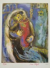 Marc Chagall Original 1984 Hand Signed & Numbered Print I with COA