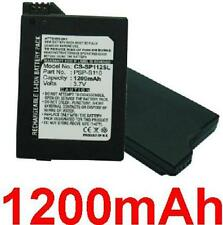 Battery 1200mAh For SONY PSP 2th Lite Slim, P/N: PSP-S110 PSPS110