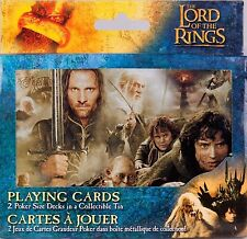 Lord of the Rings Double Deck of Playing Cards in Collectors Tin