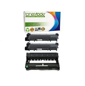 2 TN660 + 1 DR630 Toner Drum for Brother MFC-L2700DW MFC-L2740DW DR660 Printer