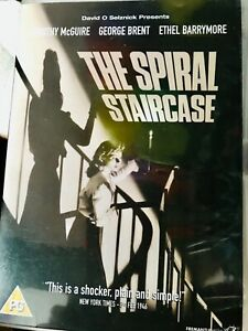 David Selznick The Spiral Staircase DVD Dorothy McGuire George Brent Ethel Barry