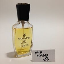 Shalimar Guerlain Eau de Toilette EDT 1 oz Spray 30 ml Fragrance Used VGC Paris
