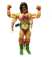 WWF WWE TNA Wrestling CLASSIC  ULIMATE WARRIOR figure with rare Blue Belt