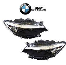 NEW For BMW F22 F23 2-Series Left & Right Headlight Assemblies Halogen Genuine