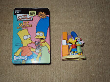 GENTLE GIANT, THE SIMPSONS, 2006 SERIES 2, BART & MARGE GUT BUSTERS BUST-UPS