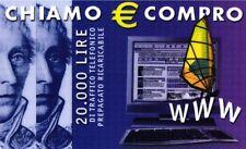 1152 SCHEDA TELEFONICA INTERNAZIONALE NUOVA CHIAMO € COMPRO ALBACOM G ALB 26