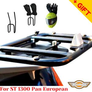 For Honda ST 1300 Pan European rear rack rear luggage rack for cases bags, Bonus