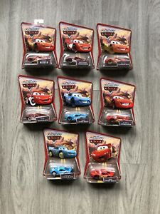 LIGHTNING MCQUEEN-DISNEY PIXAR WORLD OF CARS- Lot Of 8