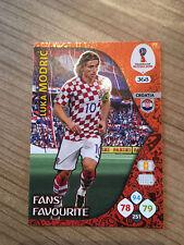 Panini wm 2018 Adrenalyn XL luka modric fans favourite Croatia Croacia