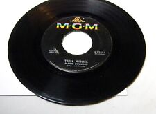 MARK DINNING TEEN ANGEL / BY NOW BABY 45 RPM RECORD