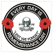 17th 21st Queens Royal Lancers classic Remembrance day Regimental Sticker