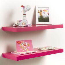 Regal Bücherregal Wandregal Wandboard Regalboden 23,5, 60, 80, 118 cm Pink, Rosa