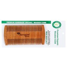1 PCS. PURE NEEM ORGANIC HANDMADE ORGANIC COMB HAIR BRUSH HOME TRAVEL LICE COMB