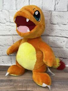 Build A Bear Workshop BAB Charmander Pokemon Plush Stuffed Animal